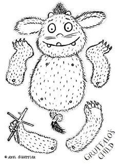 Trekpop Kind van de Gruffalo