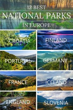 De 12 beste nationale parken in Europa / Best national Parks in Europe 🌍 Backpacking Europe, Europe Travel Tips, European Travel, Travel Destinations, Europe Europe, Travel Hacks, Europe Packing, Travel Deals, Travel Packing