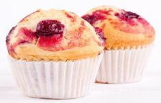Everyone knows that breakfast is the most important meal of the day. Soak up the health benefits of dairy with these protein-packed breakfast recipes. Muffin Recipes, Breakfast Recipes, Cherry Muffins, Lactose Free Recipes, Healthy Recipes, Cream Cheese Muffins, Christmas Brunch, Holiday, Cookie Desserts
