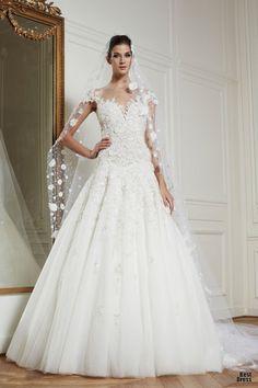 Zuhair Murad Wedding Dresses - love the neckline