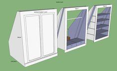 3 kledingkasten op maat - Werkspot