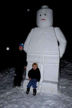 Lego Snowman