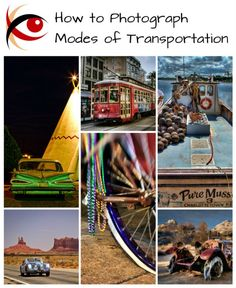 Great Subjects: learn to photograph planes, trains, automobiles and other modes of transportation in my latest tutorial http://annemckinnell.com #photography #tutorial