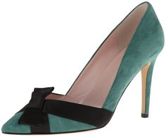 kate spade new york Women's Perry Dress Pump,Green,9.5 M US ... from amazon.com on Wanelo