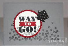 Stampin' Up! Masculine card featuring Bravo and Dotty Angles for SB64 by Claire Daly Stampin Up Australia www.clairedaly.typepad.com