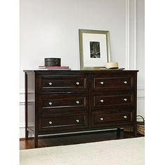 dark dresser. real wood. great price.