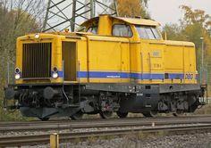 212 306-5 der DBG Deutsche Bahn Gleisbau