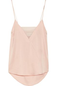 BY MALENE BIRGER Niharika stretch-silk and georgette camisole $275