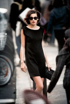 You'll never go wrong with a little black dress.