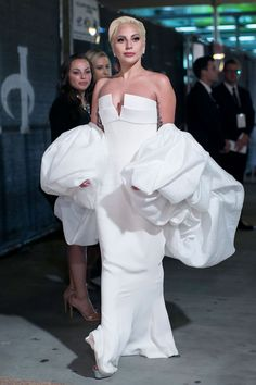 Lady Gaga At the Fox Emmy After Party.