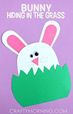 Easy & Fun Easter Crafts For Kids - Crafty Morning