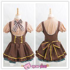 Cosplay Love Live Candy Princess Koizumi Hanayo Maid Dress Set SP151725