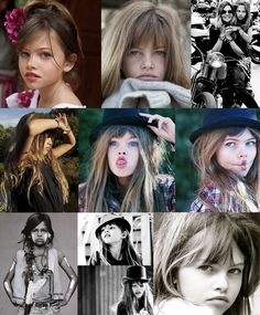 Thylane Lena-Rose Blondeau,  a 10-year old French model who has been gracing the hottest  fashion runways and is one of the latest models of Vogue.