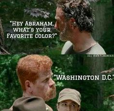 Abraham's answer to everything.
