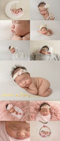 Bling whimsy pearls little lashes and floral accents what a gorgeous baby girl she is posed studio newborn keller texas newborn photographer