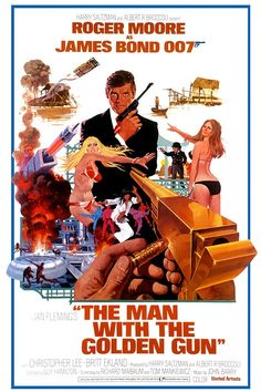 The Man with the Golden Gun (1974) movie poster