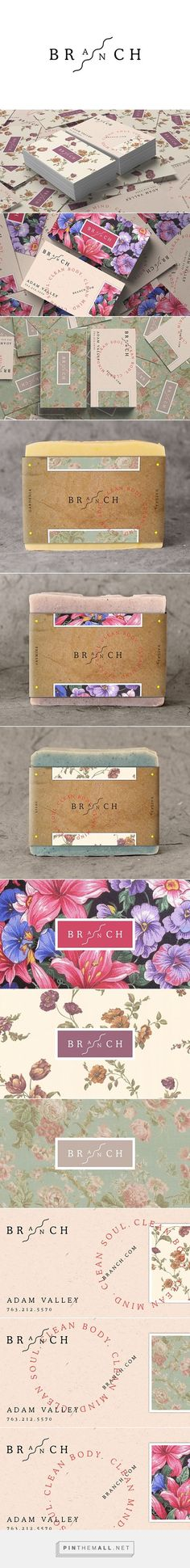 Branch Soap Branding and Packaging by Adam Valley | Fivestar Branding Agency – Design and Branding Agency & Curated Inspiration Gallery