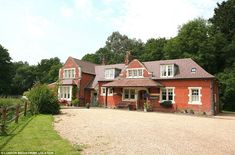 This converted train station in Privett, Hampshire, is on the market for £925,000 and is a...