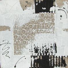 Fosca Rovelli - tecnica mista su lino