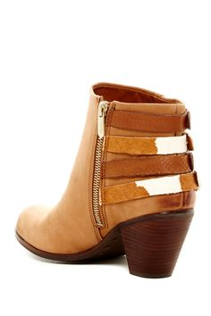 Sam Edelman | Lucca Leather Buckle Bootie - Wide Width Available | Nordstrom Rack Sponsored by Nordstrom Rack.