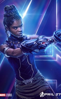 Princess Shuri ready to show the entire Marvel Universe how phenomenal she is in Infinity War.