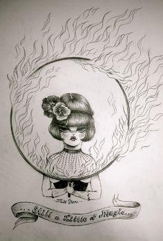 Miss van & fire by ...Miss  Van..., via Flickr
