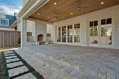 "See our internet site for more details on ""patio pavers on a budget"". It is actually an outstanding area to learn more. Casa Patio, Patio Stone, Flagstone Patio, Deck Patio, Concrete Patio, Patio Table, Outdoor Living Rooms, Outside Living, Outdoor Spaces"