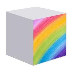 Acrylic Rainbow Sticky Notes on CafePress.com