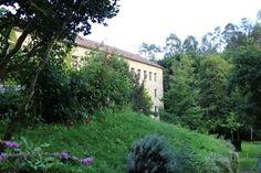 Descansando en A Quinta da Auga · Resting at A Quinta da Auga