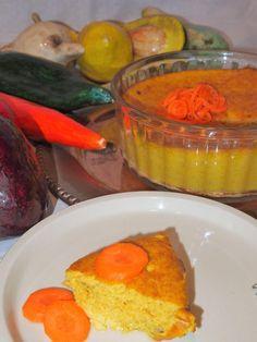 Soufflé ligero de zanahorias 250 gr de zanahorias  50 gr de cebolla (1 cebolla grande o entre 2 y 3 pequeñas)  1 puerro  3 huevos  Sal, pimienta y curry