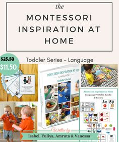 A guide for parents for developing your toddlers language + a huge pack with printables. During July 19-26 you can get it with 50% discount!