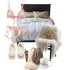 A home decor collage from November 2014 featuring room essentials bedding, antique bedding and lacy bras. Browse and shop related looks. Room Essentials, Android, App, Winter, Polyvore, Furniture, Shopping, Home Decor, Winter Time