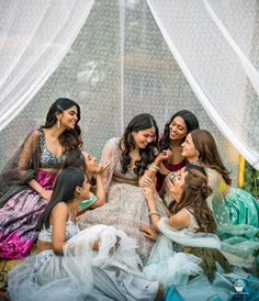 Feb, Bollywood star Alia Bhatt at her BFF's Indian Wedding, The bride, and Indian bride's friends all in colorful Indian Wedding Lehengas. Indian Wedding Photography Poses, Indian Wedding Photos, Girl Photography Poses, Indian Weddings, Bridal Poses, Bridal Photoshoot, Wedding Poses, Sikh Wedding, Wedding Shoot