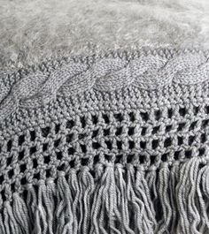 beautifully knitted #mohair blanket