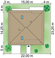 Projekt domu Zacisze 6 T 129,59 m² - Domowe Klimaty House
