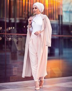Discover recipes, home ideas, style inspiration and other ideas to try. Islamic Fashion, Muslim Fashion, Modest Fashion, Hijab Fashion, Fashion Outfits, Fashion Clothes, Trendy Fashion, Style Fashion, Modest Outfits