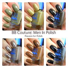 BB Couture Nail Polish for Men!