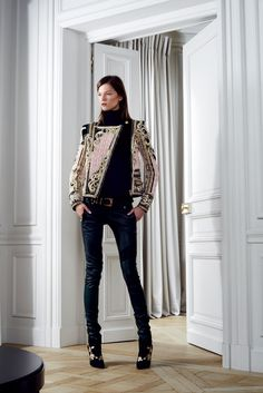 Balmain Pre-Fall 2012 Fashion Show - Kasia Struss (Women)