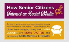 How Senior Citizens Interact on Social Media