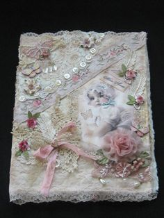 One of a Kind Fabric Baby Journal or Album  by KISoriginals, $159.00