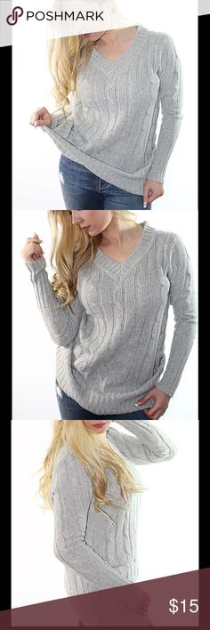 Longline V neck Sweater Type : Pullovers Material : Acrylic Sleeve Length :Full Collar :V-Neck Tops Sweatshirts & Hoodies