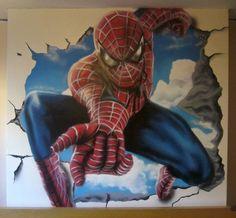 Spidermangraffiti