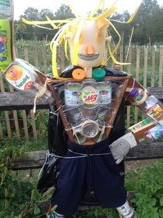 RECYCLED ITEMS  - SCARECROW