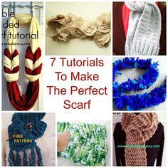 7 Tutorials To Make The Perfect Scarf — craftbits.com