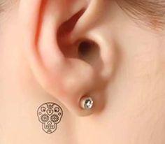 Small-Sugar-Skull-Girl-Tattoo