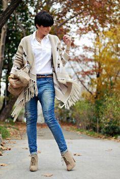 23 Fashion Cloaks For Fall Combinations