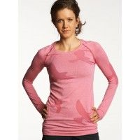 Women's Seamless Running Top - Flyte Long Sleeve | Oiselle Running Apparel for Women.  Ordered! :)