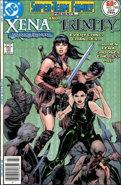 Super-Team Family: The Lost Issues!: Xena and Trinity