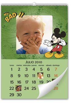 Calendario de Pared Mickey Mouse Disney (Mediano)