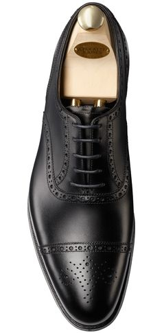 Barrington Black Calf | Crockett & Jones